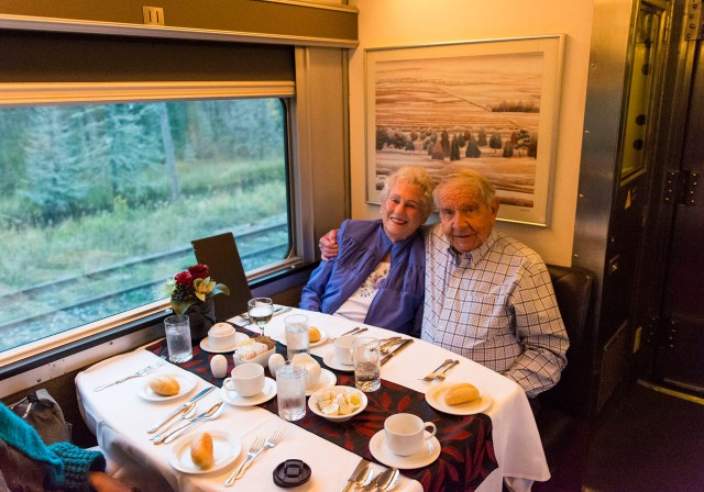 Comedor principal Tren The Canadian