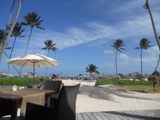 Restaurant en la playa República Dominicana