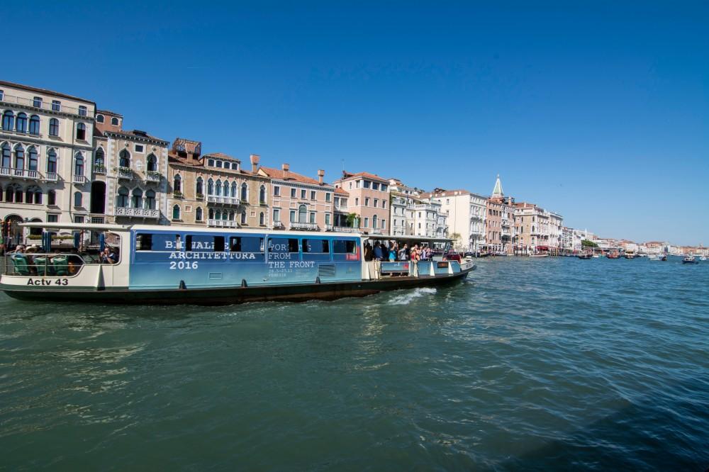 Vaporretto en Venecia